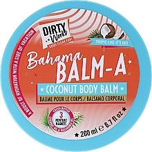 Parfumuri și produse cosmetice Balsam cu nucă de cocos pentru corp - Dirty Works Bahama Balm-A Coconut Body Balm