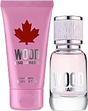 Parfumuri și produse cosmetice Dsquared2 Wood Pour Femme - Set (edt/30ml + b/lot/50ml)