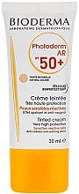 Parfumuri și produse cosmetice Crema de protecție solară - Bioderma Photoderm AR Spf 50+ Tinted Sun Cream