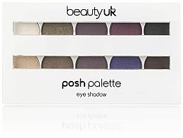 Parfumuri și produse cosmetice Paletă farduri pentru pleoape - Beauty UK Posh Eye Shadow Palette (01 -Eden)