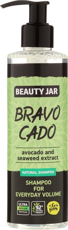 Șampon - Beauty Jar Bravo Cado Natural Shampoo — Imagine N1