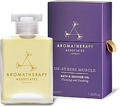 Parfumuri și produse cosmetice Ulei de duș - Aromatherapy Associates De-Stress Muscle Bath & Shower Oil