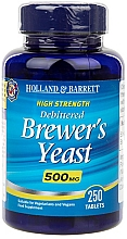 "Parfumuri și produse cosmetice Supliment alimentar ""Drojdie de bere"" - Holland & Barrett Brewers Yeast 500mg"