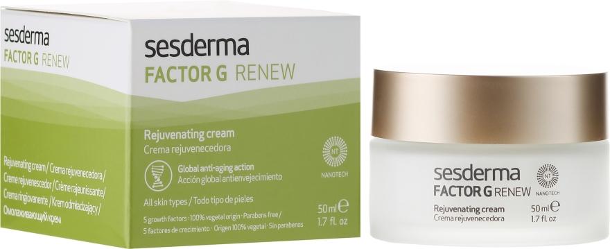 Cremă de față regenerantă anti-îmbătrânire - SesDerma Laboratories Factor G Anti-Aging Regenerating Facial Cream — Imagine N1