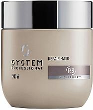 Parfumuri și produse cosmetice Mască de păr revitalizantă - System Professional Lipidcode Repair Mask R3