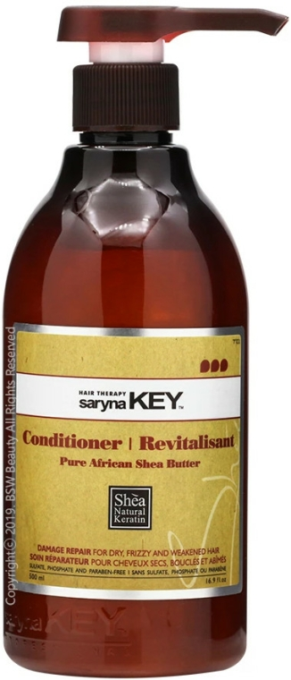 Set regenerant - Saryna Key Pure African Shea (shm/500ml + cond/500ml) — Imagine N3