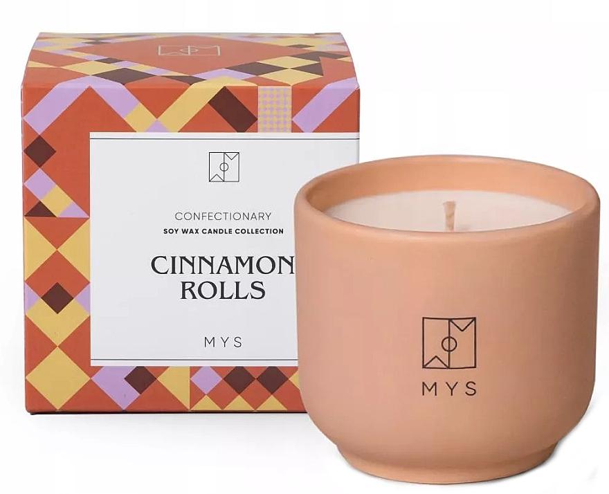"""Lumânare din soia """"Chiflă cu scorțișoară"""" - Mys Cinnamon Rolls Candle — Imagine N1"""