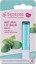 """Parfumuri și produse cosmetice Balsam de buze """"Mentă"""" - Benecos Natural Care Lip Balm Mint"""