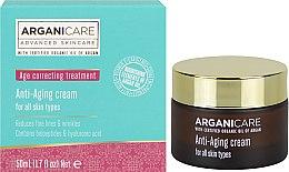 Parfumuri și produse cosmetice Cremă antirid cu efect de întărire - Arganicare Shea Butter Anti Aging Cream