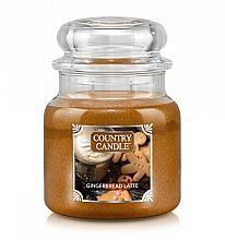 Parfumuri și produse cosmetice Lumânare aromatică - Country Candle Gingerbread Latte