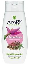 Parfumuri și produse cosmetice Gel de duș - Apart Natural Superfoods Banana Flower and Hemp