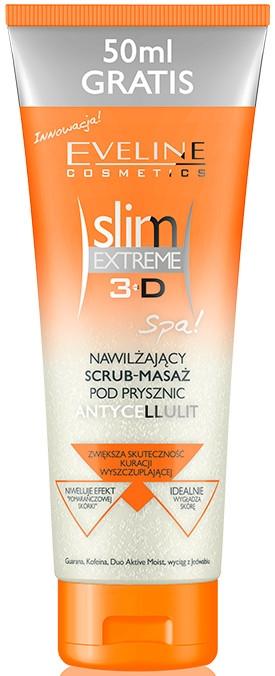 Scrub hidratant pentru corp - Eveline Cosmetics Slim Extreme 3D  — Imagine N1