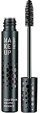 Parfumuri și produse cosmetice Rimel pentru gene voluminoase - MuF Deep Black Volume Mascara