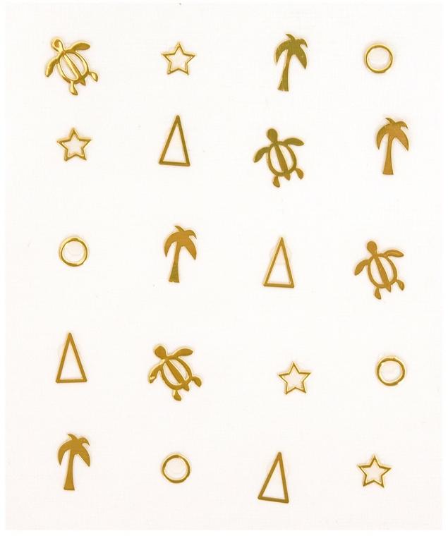 Abțibilduri pentru unghii - Peggy Sage Decorative Metallic Nail Stickers