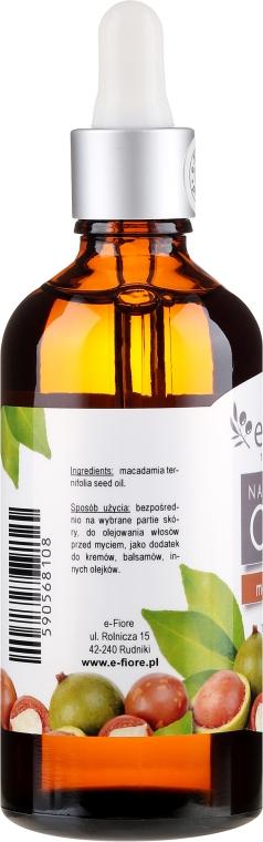 Ulei de Macadamia - E-Fiore Natural Oil — Imagine N4