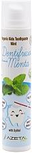 """Parfumuri și produse cosmetice Pastă de dinți pentru copii """"Mentă"""" - Azeta Bio Organic Kids Toothpaste Mint"""
