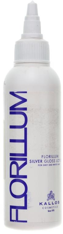 """Loțiune-balsam pentru păr """"Argintiu"""" - Kallos Cosmetics Florillum Silver Gloss Lotion"""