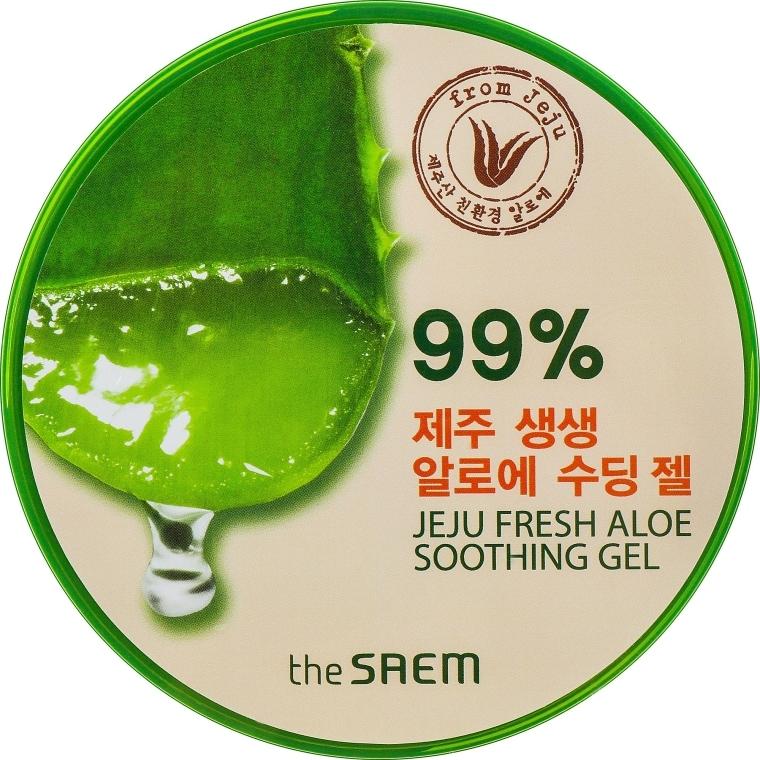 Gel de corp - The Saem Jeju Fresh Aloe Soothing Gel 99% — Imagine N1