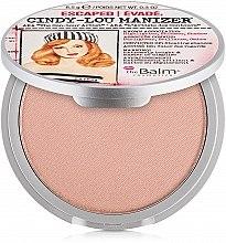 Parfumuri și produse cosmetice Iluminator, shimmer - theBalm Cindy-Lou Manizer Highlighter & Shadow