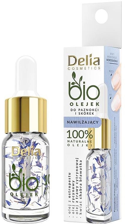 Ulei hidratant pentru unghii și cuticule - Delia Cosmetics Bio Nail Oil