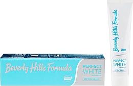 Parfumuri și produse cosmetice Pastă de dinți - Beverly Hills Formula Perfect White Optic Blue