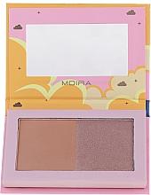 Parfumuri și produse cosmetice Bronzer pentru față - Moira Golden Rays Bronzed Goddess Duo