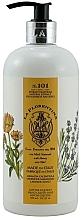 """Parfumuri și produse cosmetice Săpun lichid """"Lavadă și calendulă"""" - La Florentina Lavender & Marigold Hand & Body Soap"""