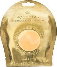 Parfumuri și produse cosmetice Patch-uri hidrogel sub ochi, aurii - Kocostar Princess Eye Patch Gold