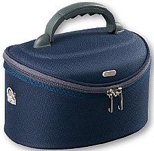 Parfumuri și produse cosmetice Trusă cosmetică, 95061, albastră - Top Choice Oval Navy