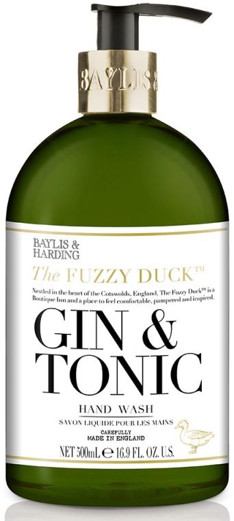 Săpun lichid de mâini - Baylis & Harding Fuzzy Duck Gin & Tonic Hand Wash — Imagine N1