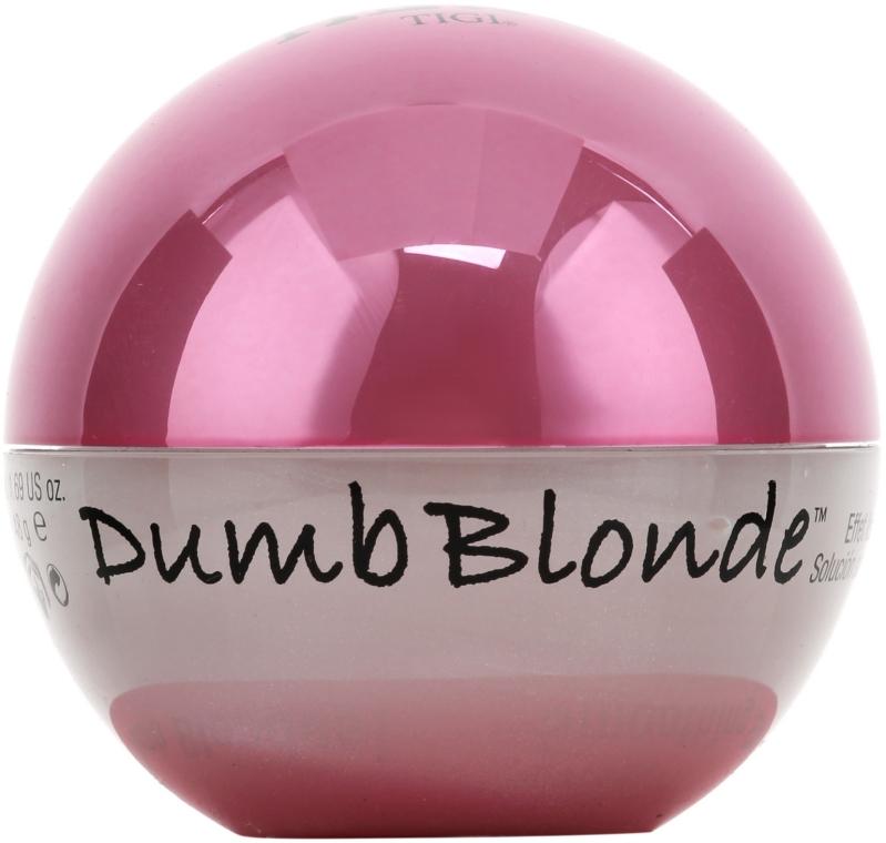 Cremă pentru netezirea părului deteriorat - Tigi Bed Head Dumb Blonde Smoothing Stuff — Imagine N2
