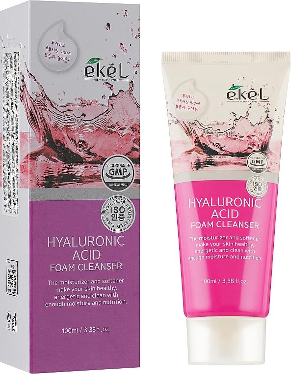 Spumă de curățare cu acid hialuronic - Ekel Hyaluronic Acid Foam Cleanser