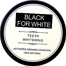 Parfumuri și produse cosmetice Praf de dinți - Biomika Black For White Teeth Whitening