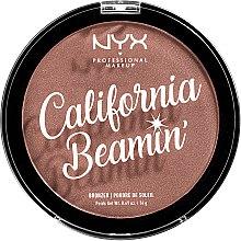 Parfumuri și produse cosmetice Bronzer pentru față și corp - NYX Professional California Beamin Face & Body Bronzer