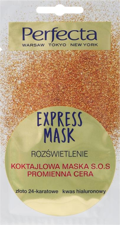 Mască SOS-cocktail pentru față - Perfecta Express Mask