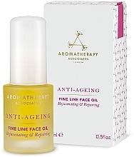 Parfumuri și produse cosmetice Ulei facial antirid - Aromatherapy Associates Anti-Ageing Fine Line Face Oil