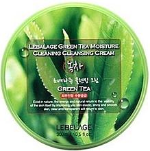 Parfumuri și produse cosmetice Cremă de curățare pentru față - Lebelage Green Tea Moisture Cleaning Cleansing Cream