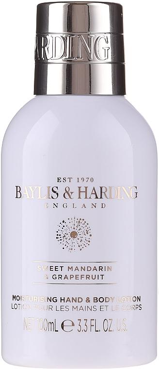 Set - Baylis & Harding Sweet Mandarin & Grapefruit (sh/gel/100ml + sh/cream/100ml + b/lot/100ml) — Imagine N2