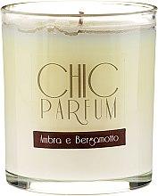 Lumânare parfumată - Chic Parfum Ambra E Bergamotto Candle — Imagine N1