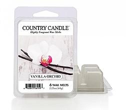 Parfumuri și produse cosmetice Ceară aromată - Country Candle Vanilla Orchid Wax Melts