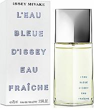 Issey Miyake Leau Bleue DIssey Eau Fraiche - Apă de toaletă — Imagine N2
