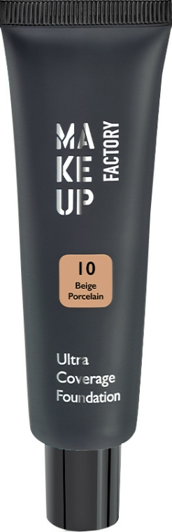 Fond de ten - Make up Factory Ultra Coverage Foundation — Imagine N1