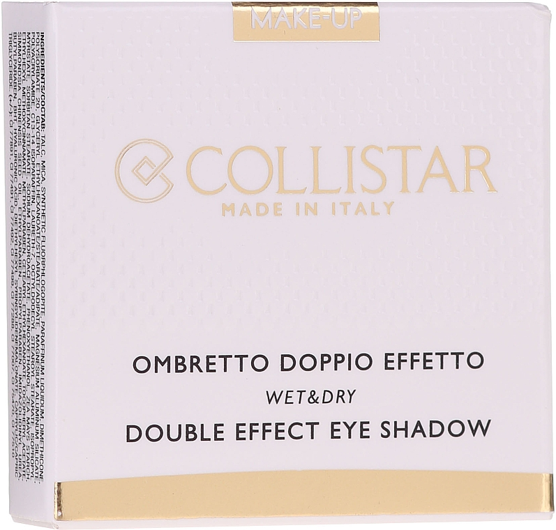 Fard de pleoape - Collistar Double Effect Eye-Shadow Wet & Dry