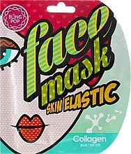 Parfumuri și produse cosmetice Mască-lifting pentru față - Bling Pop Collagen Skin Elastic Face Mask