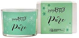 Parfumuri și produse cosmetice Lumânare organică - PuroBio Cosmetics Home Organic Pure
