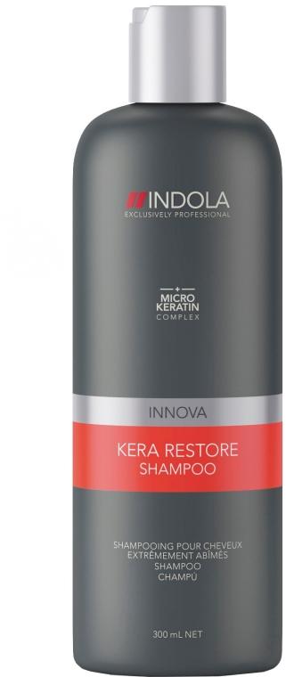 "Șampon pentru păr grav deteriorat ""Keratin Recovery"" - Indola Innova Kera Restore Shampoo — Imagine N1"