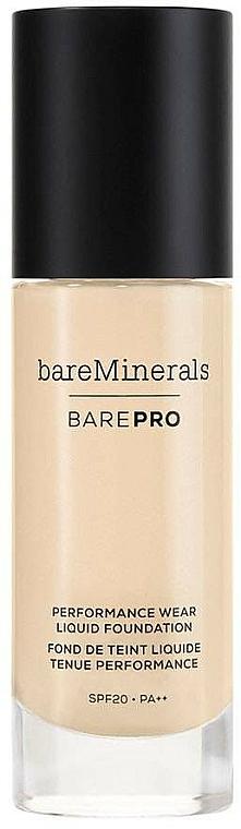 Fond de ten - Bare Escentuals Bare Minerals Barepro 24-Hour Full Coverage Liquid Foundation Spf20