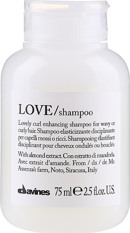 Șampon de păr - Davines Love Curl Enhancing Shampoo — Imagine N1