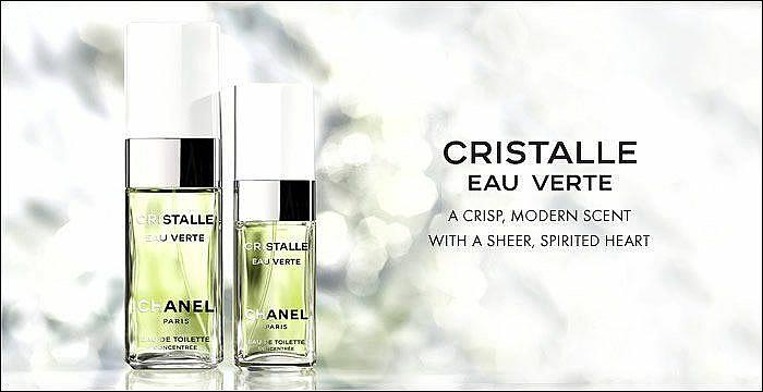 Chanel Cristalle Eau Verte - Apă de toaletă — Imagine N4