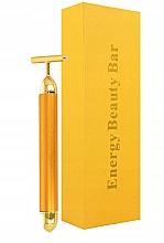 Parfumuri și produse cosmetice Massager facial cu impulsuri - Deni Carte Gold Roller